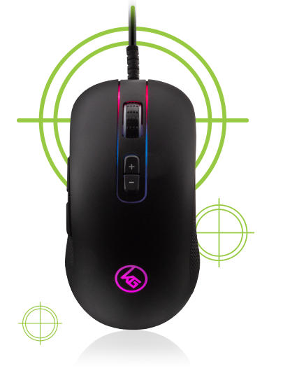 5000 DPI Optical RGB Gaming Mouse
